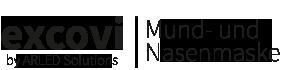 Excovi I stylische Mund- und Nasenmasken Logo